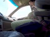 Bild: Die Geburt im Auto mit der GoPro aufgenommen.