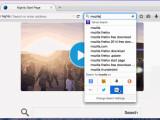 Bild: So sieht die neue Suchfunktion im Mozilla Firefox aus.