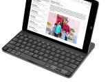 Bild: Über Bluetooth kannst du dein iPad mit einer richtigen Tastatur ausstatten, um Texte schneller eingeben zu können.