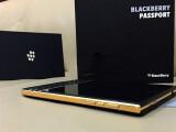Bild: Das BlackBerry Passport erscheint offenbar auch in Gold.