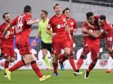 Bild: Jubel beim 4:0-Erfolg gegen den VfB Stuttgart in der Bundesliga: Ist die Werkself auch in der Champions League erfolgreich?