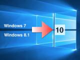 Bild: Nach dem 29. Juli 2015 könnt ihr Windows 7 und Windows 8.1 auf berechtigten Geräten auf Windows 10 upgraden.