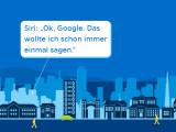 Bild: Im Internet der Dinge kommunizieren Gegenstände selbstständig miteinander. Aber wehe, ihr dreht ihnen den Rücken zu...