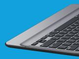 """Bild: Mit diesem Bild gibt Logitech einen Vorgeschmack auf """"Create"""" - das nach eigenen Angaben erste Tastatur-Case für Apples iPad Pro."""