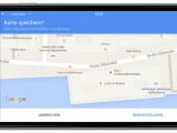Bild: Auf dem iPhone speichert ihr in Google Maps einzelne Kartenausschnitte ab, um diese auch offline nutzen zu können.
