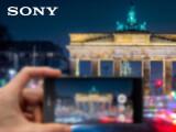 Bild: Das Sony Xperia Z5 wird auf der IFA in Berlin vorgestellt.