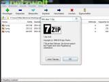 Bild: Mit 7-Zip packst du mehrere Dateien in eine Datei und komprimierst diese gleichzeitig.