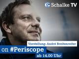 Bild: Neuer Trainer im Live-Stream Andre Breitenreiter wird um 14 Uhr vorgestellt.
