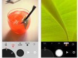 Bild: Die grafische Oberfläche von Manual Cam kann angepasst werden. Schwarz, Silber und Weiß stehen zur Auswahl.