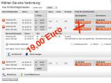 Bild: Die Deutsche Bahn zeigt auf ihrer Webseite nicht immer das günstigste Angebot an.