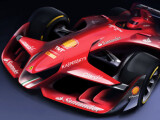Bild: Ferrari Formula 1 Concept: Nicht existent, dennoch nicht völlig realitätsfern.