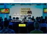 Bild: Die Social Media Week in Hamburg findet vom 23. bis 27. Februar 2015 unter anderem in Hamburg statt. Das Leitthema sind die sozialen und kulturellen Auswirkungen von Sozialen Medien.