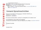 Bild: Die gefälschte E-Mail von Vodafone sieht harmlos aus, hat es aber in sich.