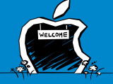 Bild: Wie viele andere Firmen hat auch Apple sich in Irland niedergelassen. Der Grund: Steuern sparen.