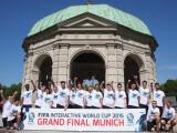 Bild: Das sind die 20 Spieler, die sich für die Gruppenphase des FIFA International World Cups qualifizieren konnten.