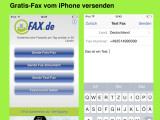 Bild: Mit der Gratis-App FAX.de FreeFax könnt ihr jeden Tag ein einseitiges Telefax kostenlos versenden.
