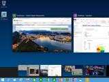Bild:  Im neuen Windows 10 kann laut Microsoft zwischen mehreren spezifischen Desktops - etwa für die Arbeit oder den privaten Einsatz - gewechselt werden.