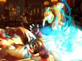 Bild: In Street Fighter 5 wird der Schlagabtausch effektreich. (Quelle: Capcom)