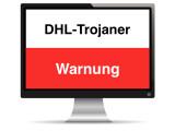 Bild: Kriminelle nutzen den Markennamen von DHL um die Rechner der Nutzer mit einem gefährlichen Virus zu infizieren.