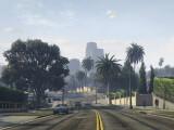 Bild: ...auf das wunderschöne Los Santos. (Screenshot / Rockstar Games)