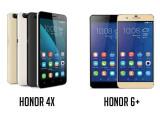 Bild: Honor 4x und Honor 6+ heißen die neuen Smartphones von Huawei.