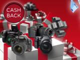 Bild: Cashback! Pünktlich zum Weihnachtsgeschäft gibt es von vielen Kamerahersteller beim Kauf einer Kamera Geld zurück.