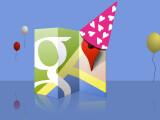 Bild: Google Maps feiert in diesen Tagen zehnjähriges Jubiläum.