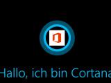 Bild: Microsoft plant offenbar die Integration der Sprachassistentin Cortana in die Office Mobile Apps.