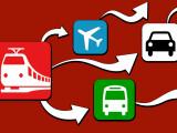Bild: Streik bei der Deutschen Bahn: Bus, Flugzeug und Auto als alternative Transportmöglichkeiten.