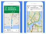 Bild: Google Maps für das iPhone ist in der Version 4.8.0 erschienen.