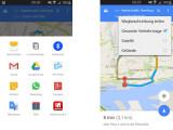 Bild: In der Version 9.3 der Google Maps-App, könnt ihr eurer Routen auch mit euren Kontakten teilen.
