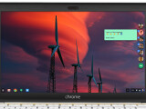 Bild: Der Google Hangouts-Client von Chrome auf dem Desktop eines Chromebooks.