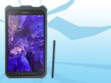 Bild: Mit der Schutzhülle übersteht das Galaxy Tab Active Stürze aus bis zu 1,2 Metern Höhe.
