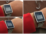 Bild: Die Pebble Smartwatch hat deutsch gelernt.