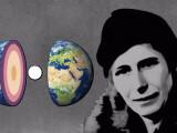 Bild: Entdeckung des Erdkerns: Inge Lehmann mit Google Doodle geehrt.