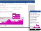 Bild: Microsoft stellt die neuen Office Apps für Smartphones und Tablets kostenlos zur Verfügung.