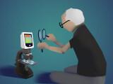 Bild: Moderne Smartphones und Tablets bieten Vergrößerungsfunktionen, die Nutzern mit Sehschwäche das Leben erleichtern können - auch ohne Mikroskop.