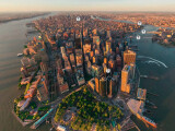 Bild: Überflug über Manhattan. Die Panorama-Aufnahmen sind aufwendig produziert worden.