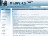 Bild: Kinox.to hat auf die Sperren in Österreich bereits reagiert und Ersatz Domains eingrichtet.