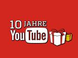 Bild: Die Videoplattform feiert Jubiläum  - vor zehn Jahren wurde die Youtube-Domain angemeldet.