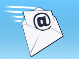 Bild: Die E-Mail wird in Deutschland immer noch rege genutzt - viele Nutzer nehmen die kostenlosen Angebote der Provider in Anspruch.