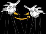 Bild: Der Großkonzern Amazon hat die Fäden in der Hand und kann mit Künstlern spielen wie mit Marionetten.
