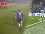 Bild: Möglicher Torerfolg: Auch in FIFA 15 solltet ihr Standardsituationen beherrschen.