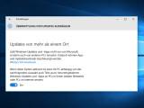 Bild: In Windows 10 gibt es einige gefährliche Voreinstellungen, wie die aktivierte Übermittlungsoptimierung.