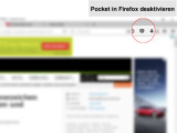 Bild: Die Zwangserweiterung Pocket könnt ihr in Mozilla Firefox abschalten.