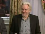 Bild: Julian Assange erklärte zuletzt im August 2014, dass er die Botschaft von Ecuador bald verlassen will.
