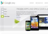 Bild: Mit über 700.000 Apps ist der Play Store von Google bereits randvoll mit Anwendungen gefüllt. Wer noch mehr will, kann alternative Markplätze für Android-Anwendungen nutzen.