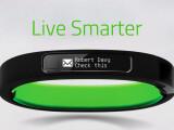 Bild: Das Razer Nabu vereint Funktionen von Fitness-Tracker und Smartwatch.