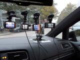 Bild: Der Vergleichstest: Unterwegs mit den Autokameras auf Hamburgs Straßen.