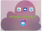 Bild: Unter iOS 9 versendet ihr Anhänge aus Cloud-Speichern per E-Mail ohne großen Aufwand.